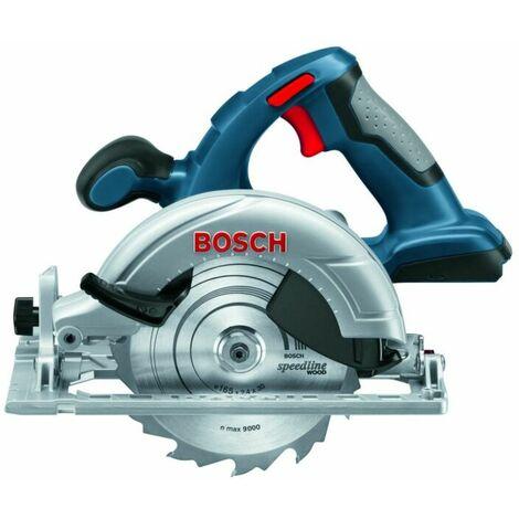 Bosch GKS 18 V-LI SOLO Scie circulaire à batteries 18V Li-Ion (machine seule) - 165mm