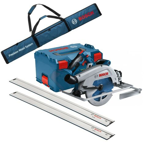 Bosch GKS 18V-68 GC 18V BITURBO Brushless Circular Saw 190mm 2x1.6m Guide Rails