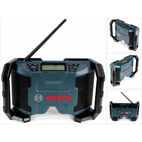 Bosch GML 10,8V Radio de chantier sans fil 12V 10 Watt ( 0601429270 - 601429200 ) - sans batterie, sans chargeur