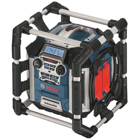 Bosch GML 50 PowerBox 360 Deluxe - Radio & chargeur à 14,4/18V Li-Ion (machine seule) - secteur & batterie