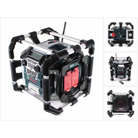 Bosch GML 50 Professional Radio cargador para obras 18V / 50W ( 0601429600 ) - Sin batería, sin cargador incluidos