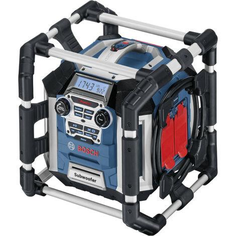 Bosch GML 50 Radio de chantier PowerBox son imbattable a 360ø 50 W 0601429600 GML50