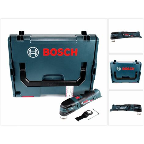 Bosch GOP 12V-28 Professional Multi-Cutter a batería 12 V con Starlock en L-Boxx ( 06018B5002 ) - Sin batería, sin cargador incluidos