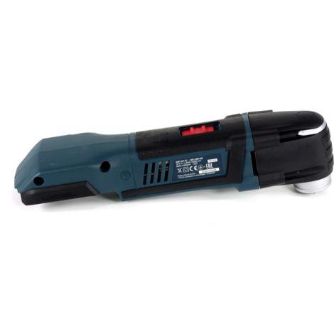 Bosch GOP 18 V-EC Découpeur-ponceur sans fil 18V OIS / Starlock + 2x Batteries 2,0Ah + Chargeur