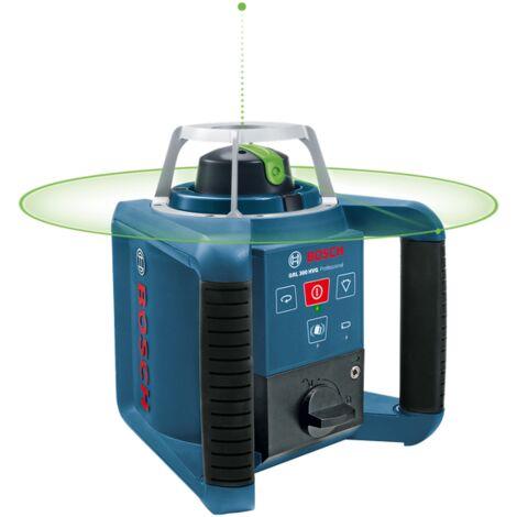 Bosch GRL 300 HVG Laser rotatif dans coffret accessoires inclus - 100m - vert