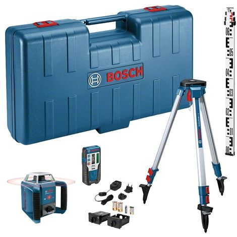 Bosch GRL 400H + LR1 Compact All-in-one Drill Set