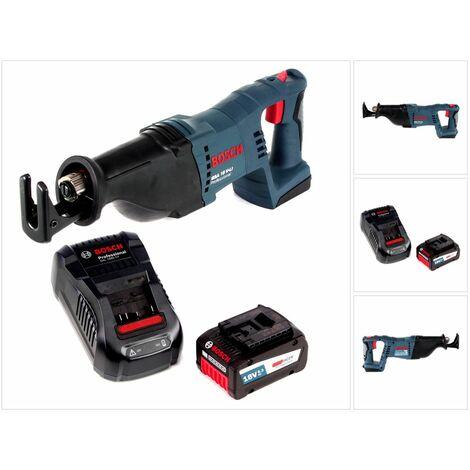 Bosch GSA 18 V-Li Scie sabre sans fil 18V + 1 x Batterie 6,3Ah + Chargeur
