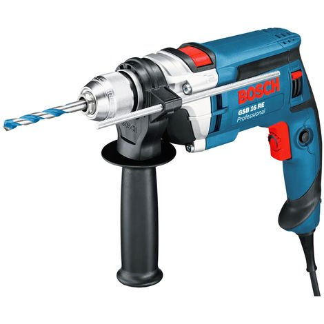 Bosch GSB16RE 110V 1-Speed Impact Drill in Carry Case 060114E560