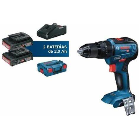 Bosch GSB18V-55+2x2,0Ah+GAL18V-40+L-BOXX 06019H5301