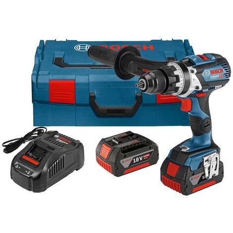 Bosch GSB18V-85C 18v Professional Combi Drill (2 x 5.0 Ah Batteries)