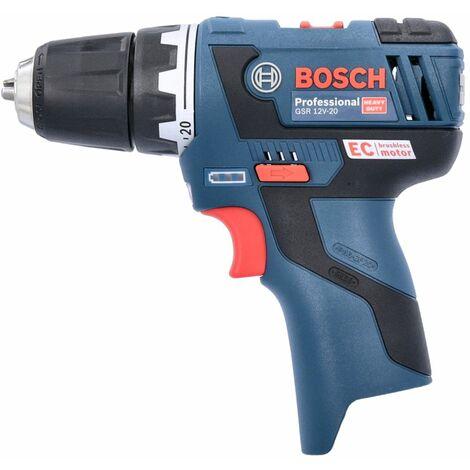 Bosch GSR 12V-20 12V Li-Ion Brushless Drill Driver Body Only