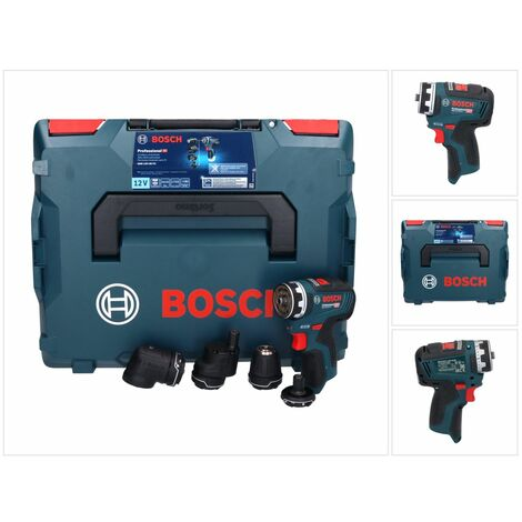 Bosch GSR 12V-35 FC 12V 35Nm Brushless Perceuse-visseuse sans fil + Coffret de transport L-Boxx ( 06019H3003 ) - sans Batterie, sans Chargeur