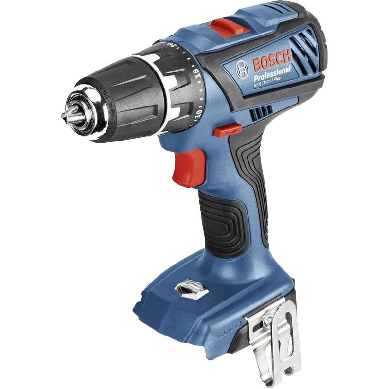 Bosch GSR 18-2 Li Plus SOLO Perceuse visseuse à batteries 18V Li-Ion (machine seule)