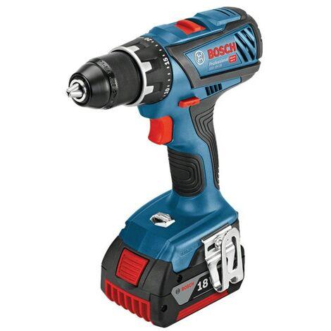 Bosch GSR 18 V-28 Professional Drill Driver including 2x 5.0Ah Batteries, AL 18
