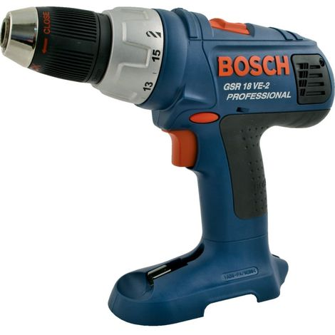 Bosch Gsr 18 VE-2 18V Drill Driver Body Only