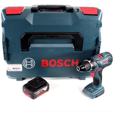 """Bosch GSR 18V-28 Perceuse-visseuse sans fil 18V 1/2"""" 13mm + Coffret de transport L-Boxx + 1 x Batterie 5 Ah - sans Chargeur"""