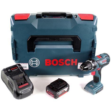 """Bosch GSR 18V-28 Perceuse-visseuse sans fil 18V 1/2"""" 13mm + Coffret de transport L-Boxx + 1x Batterie 5 Ah + Chargeur rapide"""
