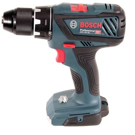 Bosch GSR 18V-28 Professional Taladro atornillador a batería en L-Boxx + 1x Batería GBA 18V 3,0 Ah + Cargador GAL 1880 CV