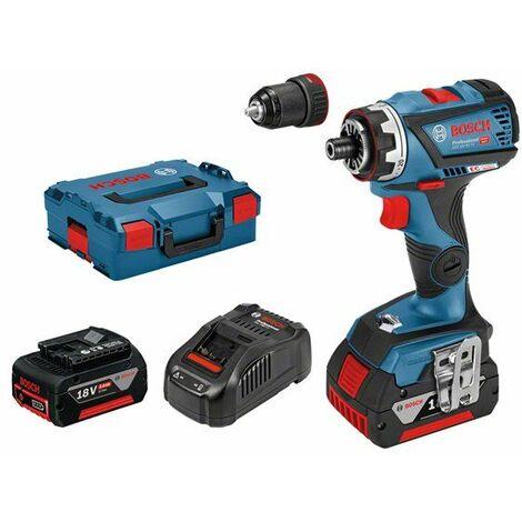 Bosch GSR 18V-60 FC 18V Li-Ion batería Juego de Taladro / destornillador (2x baterías 5.0Ah) en maletín L-Boxx