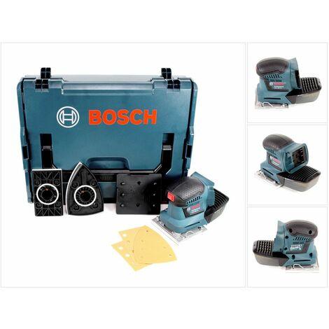 Bosch GSS 18V-10 Professional Lijadora orbital a batería en L-Boxx ( 06019D0202 )