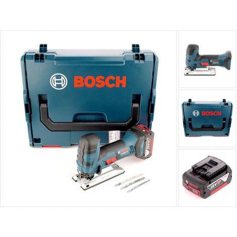 af68c6170ec46 Bosch GST 18 V-Li S Professional Scie sauteuse sans fil Solo avec boîtier  L-Boxx ...