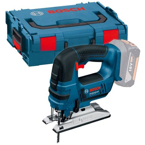 Bosch GST18V-LIB 18v Bow Handle Jigsaw in L-Boxx (Body Only)