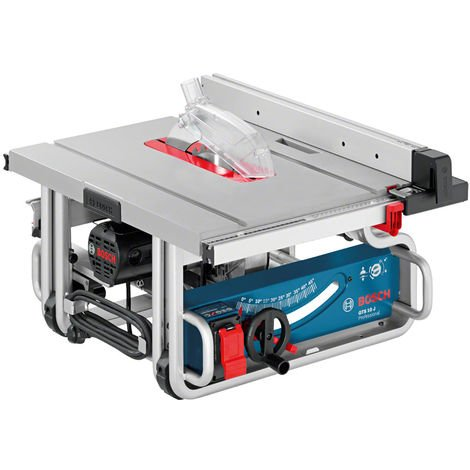 Bosch GTS10J 254mm Portable Professional Table Saw 110V 0601B30560