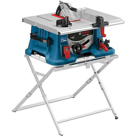 Bosch GTS635-216 240v Portable Table Saw 216mm 1600w & GTA560 Leg Stand
