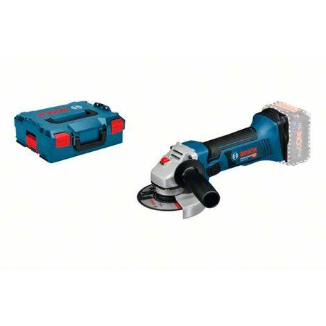 Bosch GWS 18-125 V-LI Professional Amoladora angular a batería en maletín L-Boxx