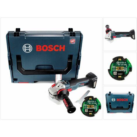Bosch GWS 18 V-125 SC Professional 125 mm Meuleuse angulaire sans fil avec boîtier L-Boxx + Module de connectivité Bluetooth GCY 30-4 ( 06019G3400 )