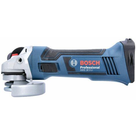 Bosch GWS 18 V-LI Cordless Angle Grinder 115mm Bare Unit 060193A300