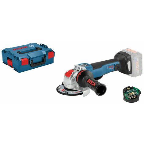 Bosch GWX 18 V-10 PSC X-Lock 18V Litio-Ion batería Amoladora angular cuerpo en maletín L-Boxx - 125mm - sin escobillas