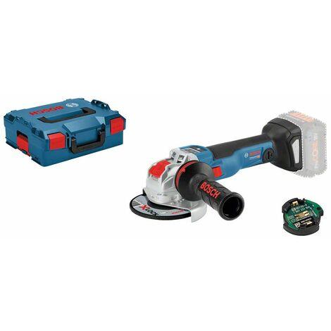 Bosch GWX 18 V-10 SC X-Lock 18 V Li-Ion cuerpo de la amoladora angular cuerpo en maletín L-Boxx - 125 mm - sin escobillas