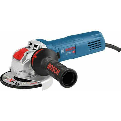 Bosch GWX 9-115 S X-Lock Amoladora angular en maletín - 900W - 115mm - variable