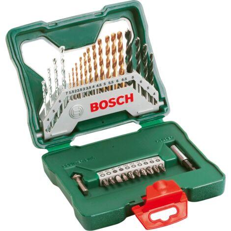 Bosch Heimwerken & Garten X-Line Titanium Bohrer- und Schrauber-Set, 30-teilig, Bohrer- & Bit-Satz