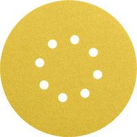 BOSCH - Hoja de lija C430, paquete de 5 uds. 125 mm 240