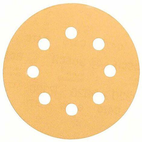 BOSCH - Hoja de lija C470, paquete de 5 uds. 115 mm 240