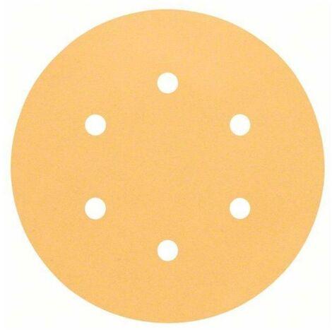 BOSCH - Hoja de lija C470, paquete de 50 uds. 150 mm 180