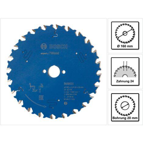 Bosch Hoja de sierra circular Expert for Wood 160 mm 24 dientes ( 2608644016 )