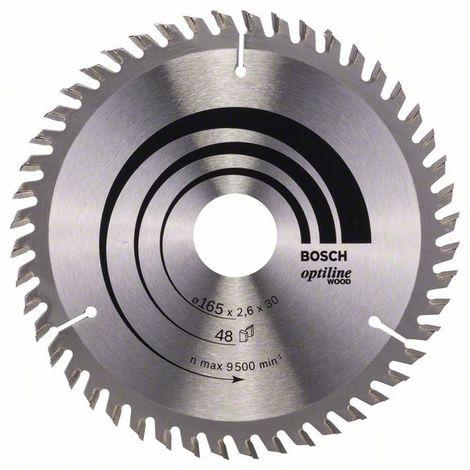 184 x 20 x 2,0 mm, 48 Hoja de sierra circular Expert for Steel Bosch 2 608 643 055
