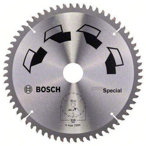 BOSCH - Hoja de sierra circular SPECIAL D= 210 mm