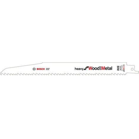 BOSCH - Hoja de sierra sable S 1411 DF Heavy for Wood&Metal