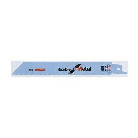 BOSCH - Hoja de sierra sable S 922 AF Flexible for Metal
