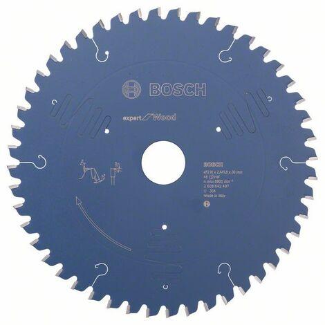 BOSCH - Hoja sierra circular Expert for Wood 254 x 30 x 2,4 mm 60