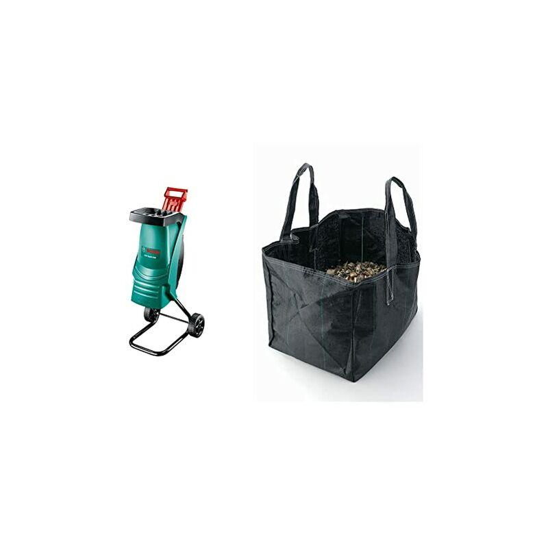 0600853600 Biotrituratore Elettrico, 2200 W & Sacco Di Raccolta (Compatibile Con Tutti I Modelli Di Biotrituratori) - Bosch Home And Garden