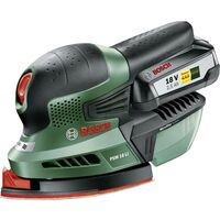 Bosch Home and Garden PSM 18 LI 06033A1303 Levigatrice multifunzione a batteria incl. batteria ricaricabile 18 V 2.5 Ah