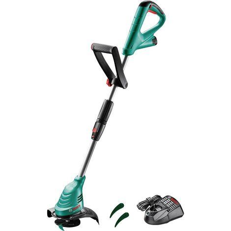 Bosch Home and Garden sans fil Coupe-bordures avec batterie, avec chargeur, avec étrier de protection 12 V 2.5 Largeur