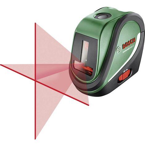 Bosch Home and Garden UniversalLevel 2 Basic Laser a croce autolivellante Raggio di azione (max.): 10 m