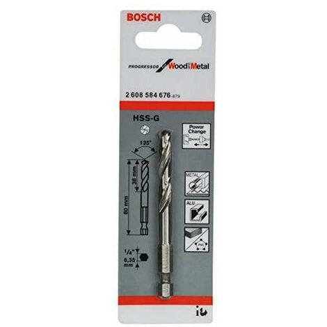 Bosch HSS-G Pilot Drill Bit with Split Point - 80mm