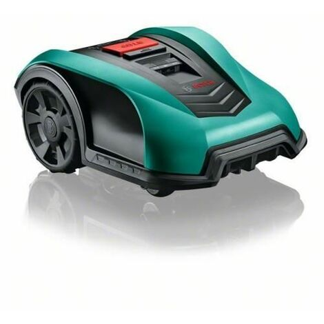 """main image of """"Bosch Indego 350 Robotic lawn mower Battery Black, Green"""""""